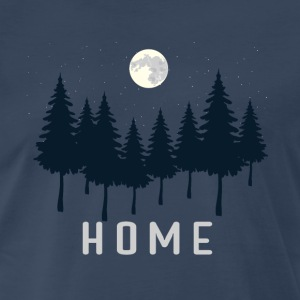 Camping Home - Men's Premium T-Shirt