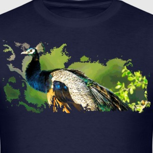 peacock - Men's T-Shirt