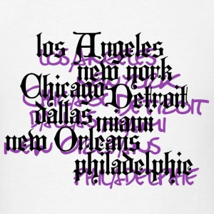 USA_CiTy - Men's T-Shirt