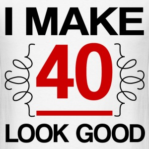 MAKE 40 1.png T-Shirts - Men's T-Shirt