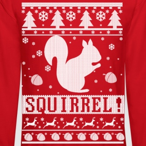 Squirrel Christmas Long Sleeve Shirts - Crewneck Sweatshirt