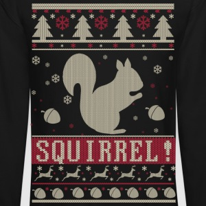 Squirrel Ugly Christmas Long Sleeve Shirts - Crewneck Sweatshirt