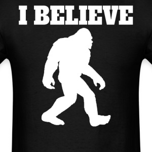 I Believe Bigfoot Silhouette Shirt - Men's T-Shirt