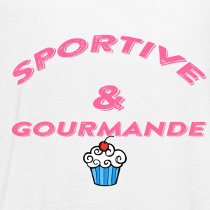 Gourmande et sportive - Women's Flowy Tank Top by Bella