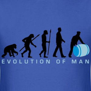 evolution_of_man_harbour_worker_a_3c T-Shirts - Men's T-Shirt