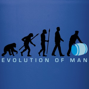 evolution_of_man_harbour_worker_a_3c Mugs & Drinkware - Full Color Mug