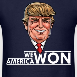 WE AMERICA WON T-Shirts - Men's T-Shirt