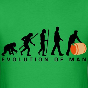 evolution_of_man_harbour_worker_b_3c T-Shirts - Men's T-Shirt