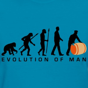 evolution_of_man_harbour_worker_b_3c T-Shirts - Women's T-Shirt