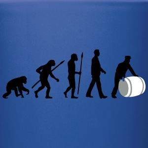 evolution_of_man_harbour_worker_c_3c Mugs & Drinkware - Full Color Mug