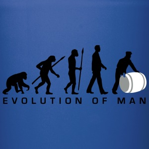 evolution_of_man_harbour_worker_b_3c Mugs & Drinkware - Full Color Mug
