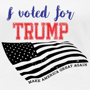 I voted for TRUMP T-Shirts - Women's Premium T-Shirt