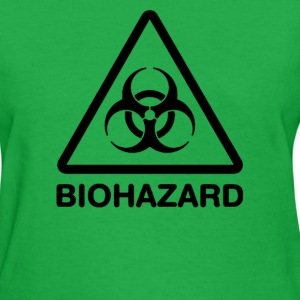 Biohazard Symbol - Women's T-Shirt