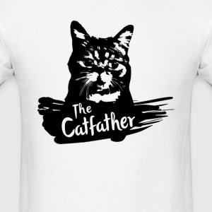 The Catfather - Men's T-Shirt