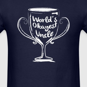World's Okayest Uncle - Men's T-Shirt