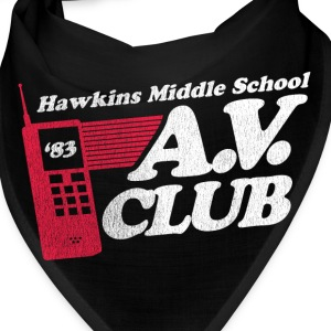 Hawkins Middle School A.V. Club - Bandana