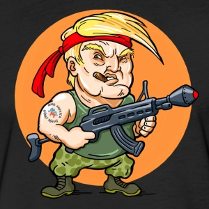 President Trumpo (color) - Fitted Cotton/Poly T-Shirt by Next Level