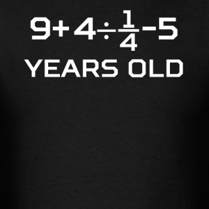 20 Years Old Algebra Equation 20th Birthday - Men's T-Shirt