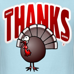 Thanksgiving Day Turkey T-Shirts - Men's T-Shirt