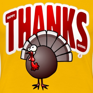 Thanksgiving Day Turkey T-Shirts - Women's Premium T-Shirt