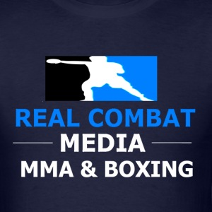 RCM MMA & BOXING Black T-Shirt - Men's T-Shirt