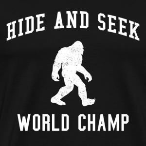Hide & Seek World Champion - Men's Premium T-Shirt