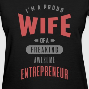 Wife Awesome Entrepreneur - Women's T-Shirt