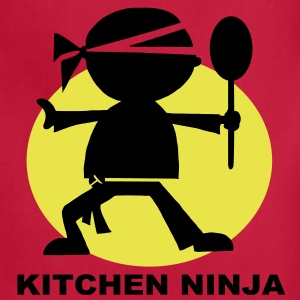 Kitchen Ninja BBQ Apron - Adjustable Apron