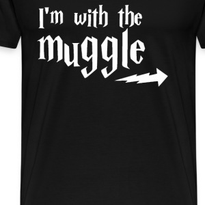 with the Muggle - Men's Premium T-Shirt