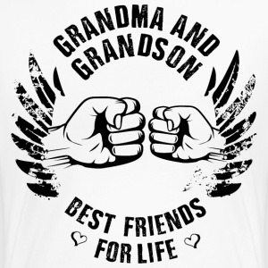 Grandma and Grandson - Women's Premium T-Shirt