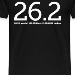 Yards Feet Inches 26 - Men's Premium T-Shirt