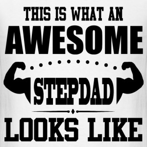 STEPDAD 1 .png T-Shirts - Men's T-Shirt