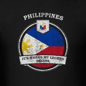 Philippines It's Where My Legend Begins - Men's T-Shirt