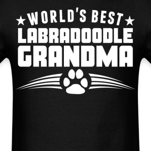 World's Best Labradoodle Grandma T-Shirt - Men's T-Shirt