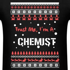 Chemist Christmas Shirt - Men's T-Shirt