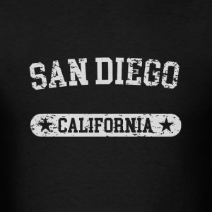 San Diego California - Men's T-Shirt