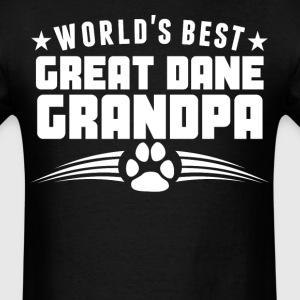 World's Best Great Dane Grandpa T-Shirt - Men's T-Shirt