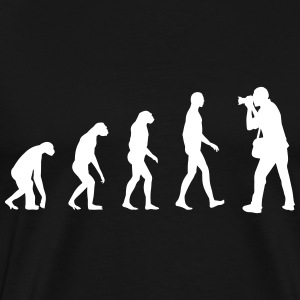 photography evolution T-Shirts - Men's Premium T-Shirt