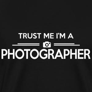 photography: trust me photographer T-Shirts - Men's Premium T-Shirt