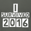 I survived 2016 - Men's T-Shirt by American Apparel
