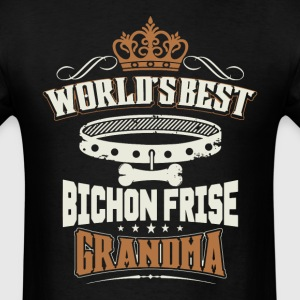 World's Best Bichon Frise Grandma T-Shirt - Men's T-Shirt
