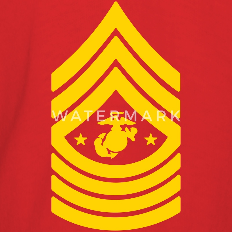 Sergeant Major of the Marine Corps SgtMajMC T-Shirts - Men's T-Shirt
