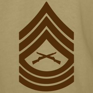 Master Sergeant MSgt Rank, Mision Militar ™ T-Shirts - Men's T-Shirt