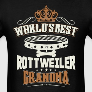 World's Best Rottweiler Grandma T-Shirt - Men's T-Shirt