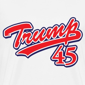 Trump 45! - Men's Premium T-Shirt