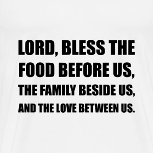 Lord Bless Food Family - Men's Premium T-Shirt