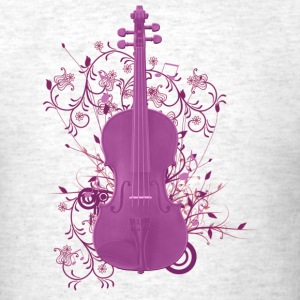 violin - Men's T-Shirt