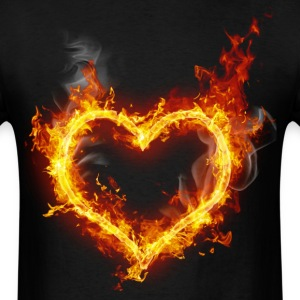 flames love - Men's T-Shirt