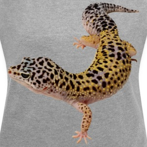 gecko - Women´s Rolled Sleeve Boxy T-Shirt