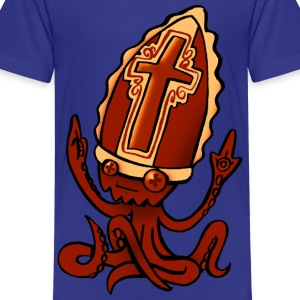 octopus pope - Kids' Premium T-Shirt